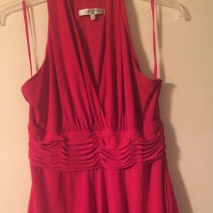 Evan Picone three tiered Dress- ***Bright Red 16**